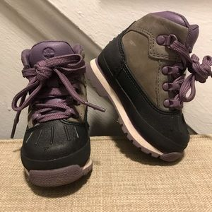 Toddler Timberland boot for hiking/winter weather